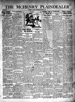 McHenry Plaindealer (McHenry, IL), 20 Mar 1930