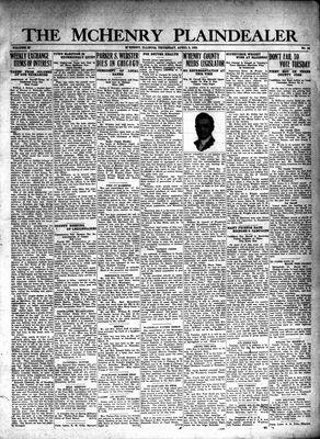 McHenry Plaindealer (McHenry, IL), 3 Apr 1930