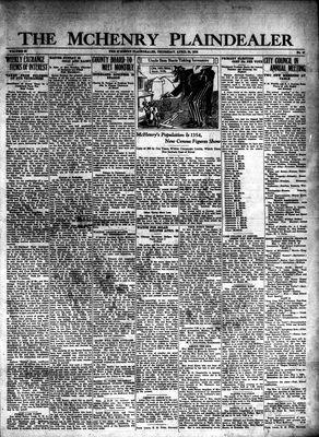 McHenry Plaindealer (McHenry, IL), 24 Apr 1930