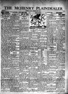 McHenry Plaindealer (McHenry, IL), 1 May 1930