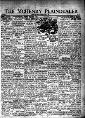 McHenry Plaindealer (McHenry, IL), 8 May 1930