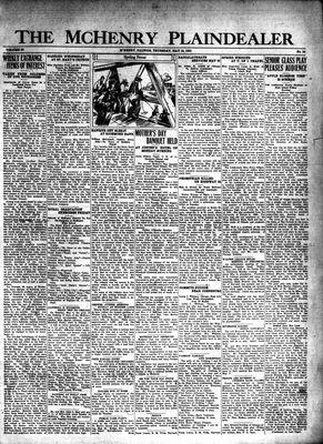 McHenry Plaindealer (McHenry, IL), 15 May 1930