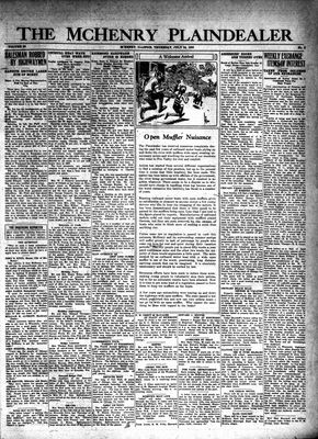 McHenry Plaindealer (McHenry, IL), 24 Jul 1930