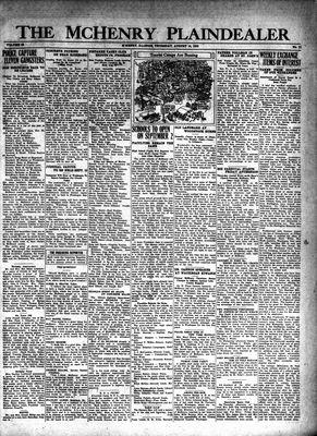 McHenry Plaindealer (McHenry, IL), 14 Aug 1930