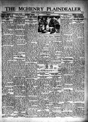 McHenry Plaindealer (McHenry, IL), 18 Sep 1930