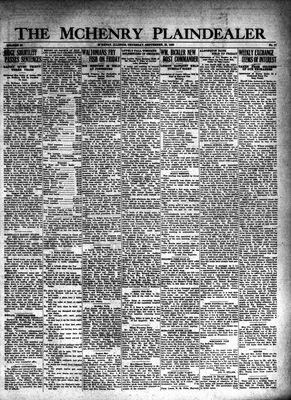 McHenry Plaindealer (McHenry, IL), 25 Sep 1930