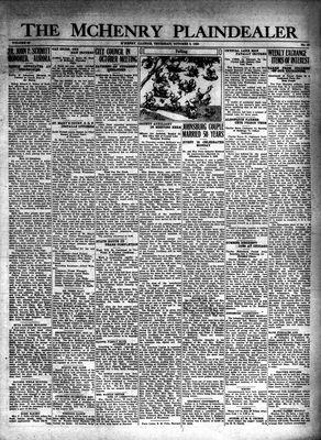 McHenry Plaindealer (McHenry, IL), 9 Oct 1930