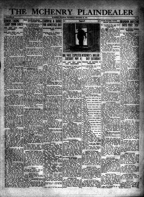 McHenry Plaindealer (McHenry, IL), 30 Oct 1930