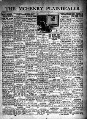 McHenry Plaindealer (McHenry, IL), 11 Dec 1930