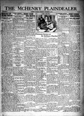 McHenry Plaindealer (McHenry, IL), 18 Dec 1930