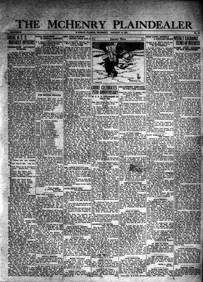 McHenry Plaindealer (McHenry, IL), 15 Jan 1931