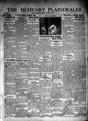 McHenry Plaindealer (McHenry, IL), 22 Jan 1931