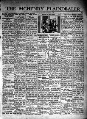 McHenry Plaindealer (McHenry, IL), 5 Feb 1931