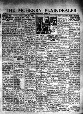 McHenry Plaindealer (McHenry, IL), 19 Mar 1931