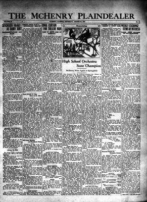 McHenry Plaindealer (McHenry, IL), 26 Mar 1931
