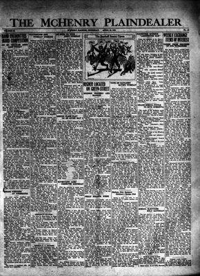 McHenry Plaindealer (McHenry, IL), 16 Apr 1931