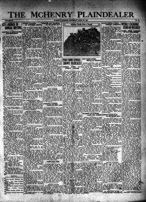 McHenry Plaindealer (McHenry, IL), 30 Apr 1931