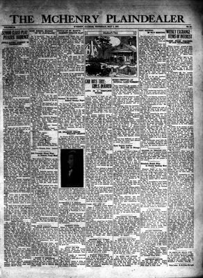 McHenry Plaindealer (McHenry, IL), 7 May 1931