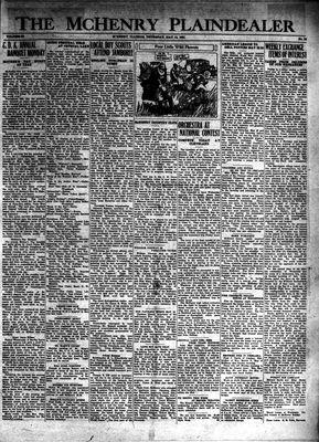 McHenry Plaindealer (McHenry, IL), 14 May 1931