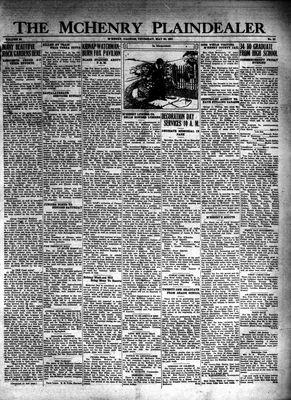 McHenry Plaindealer (McHenry, IL), 28 May 1931