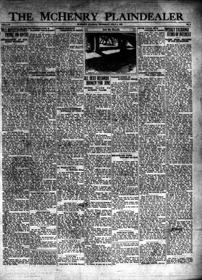 McHenry Plaindealer (McHenry, IL), 2 Jul 1931