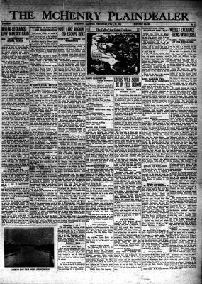 McHenry Plaindealer (McHenry, IL), 23 Jul 1931