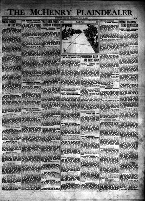 McHenry Plaindealer (McHenry, IL), 30 Jul 1931