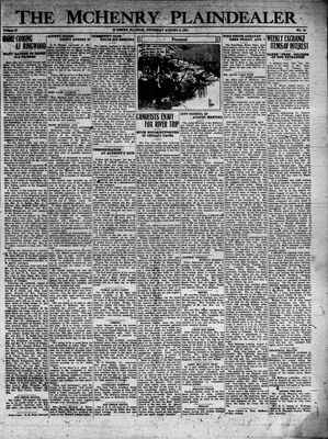 McHenry Plaindealer (McHenry, IL), 6 Aug 1931