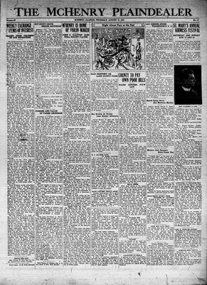 McHenry Plaindealer (McHenry, IL), 13 Aug 1931