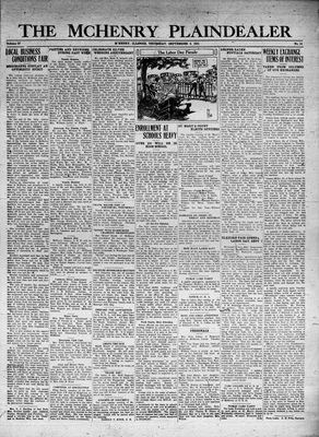 McHenry Plaindealer (McHenry, IL), 3 Sep 1931
