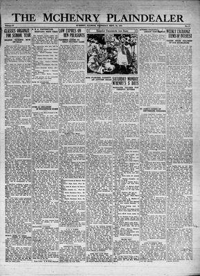 McHenry Plaindealer (McHenry, IL), 24 Sep 1931