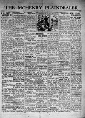 McHenry Plaindealer (McHenry, IL), 1 Oct 1931