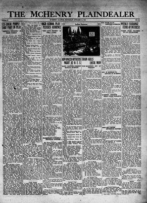 McHenry Plaindealer (McHenry, IL), 15 Oct 1931