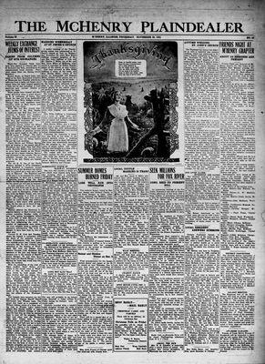 McHenry Plaindealer (McHenry, IL), 26 Nov 1931