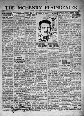 McHenry Plaindealer (McHenry, IL), 10 Dec 1931
