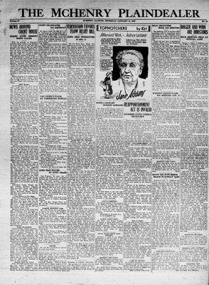 McHenry Plaindealer (McHenry, IL), 14 Jan 1932