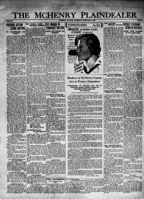 McHenry Plaindealer (McHenry, IL), 4 Feb 1932