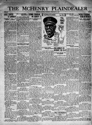 McHenry Plaindealer (McHenry, IL), 18 Feb 1932