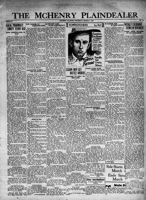 McHenry Plaindealer (McHenry, IL), 3 Mar 1932