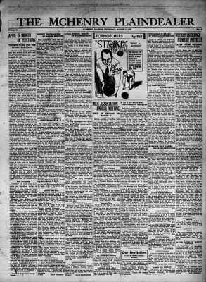 McHenry Plaindealer (McHenry, IL), 17 Mar 1932