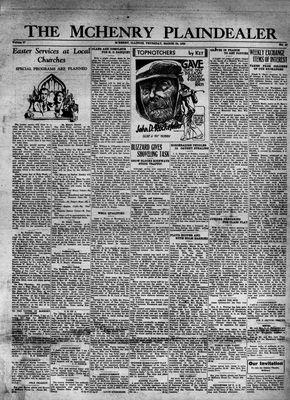 McHenry Plaindealer (McHenry, IL), 24 Mar 1932