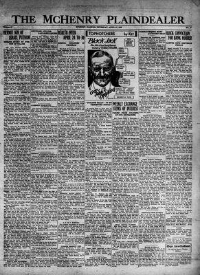 McHenry Plaindealer (McHenry, IL), 21 Apr 1932