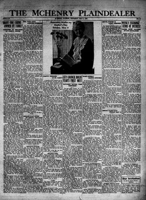 McHenry Plaindealer (McHenry, IL), 5 May 1932