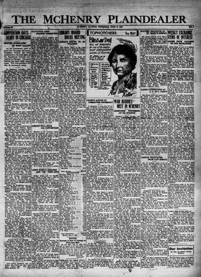McHenry Plaindealer (McHenry, IL), 16 Jun 1932