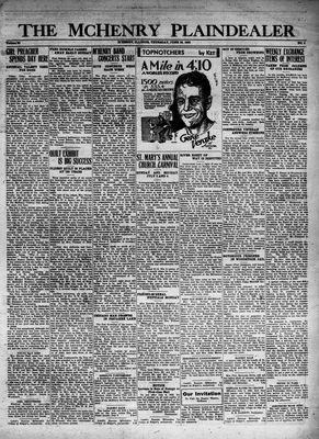 McHenry Plaindealer (McHenry, IL), 30 Jun 1932