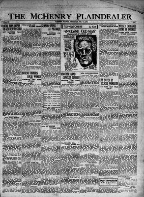 McHenry Plaindealer (McHenry, IL), 14 Jul 1932