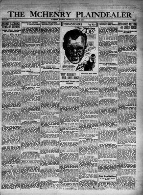 McHenry Plaindealer (McHenry, IL), 21 Jul 1932