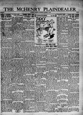 McHenry Plaindealer (McHenry, IL), 11 Aug 1932