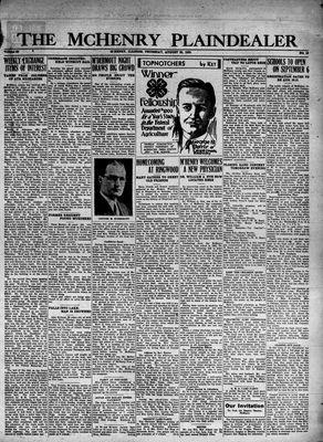 McHenry Plaindealer (McHenry, IL), 25 Aug 1932