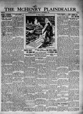McHenry Plaindealer (McHenry, IL), 8 Sep 1932